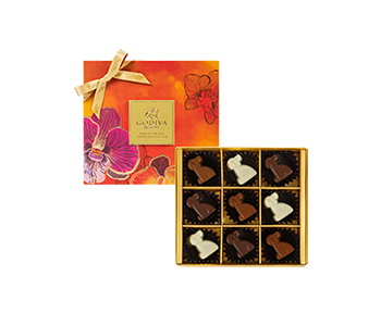 Year of The Dog - Limited Edition Chocolate Gift Box 9pcs.