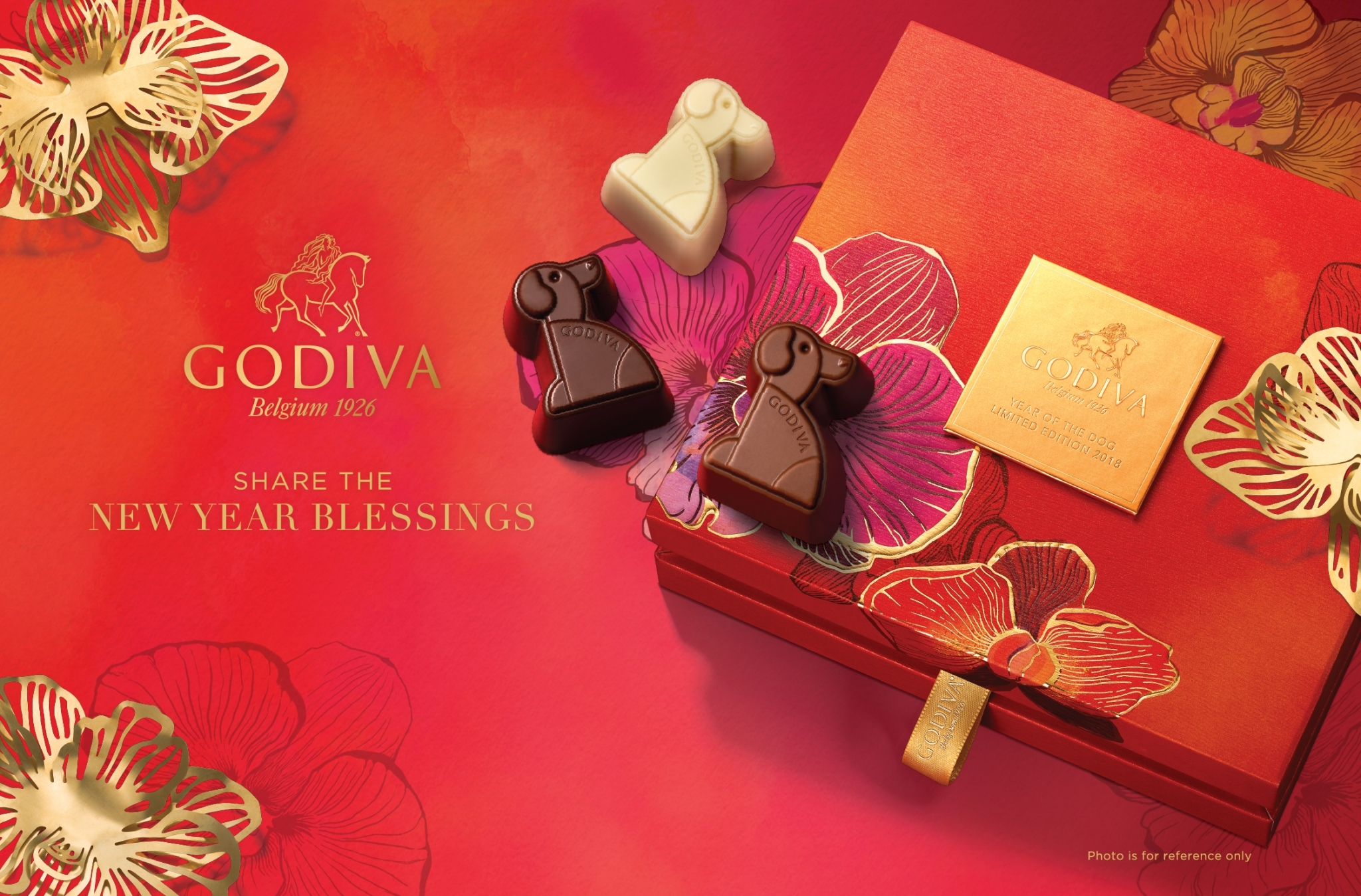 2018 GODIVA Year of the Dog – Limited Edition