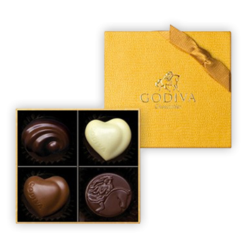 Chocolate Gold Collection 4pcs.